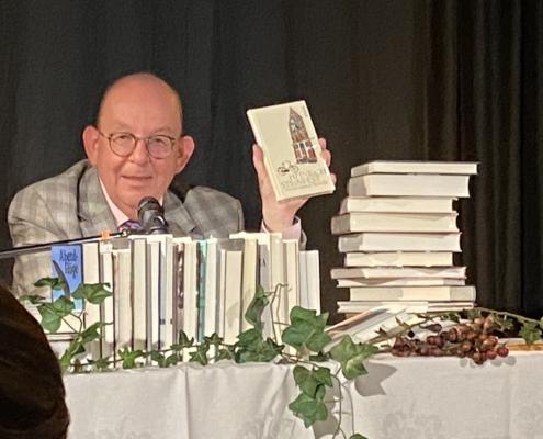 Literaturkritiker Denis Scheck in Celle